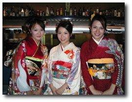 Une elève japonaise