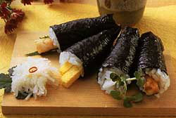 Un sushi aux algues