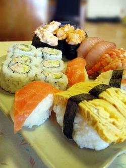 La diversité des sushis