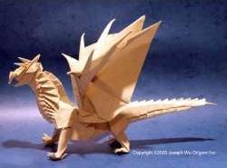 Un très bel origami !
