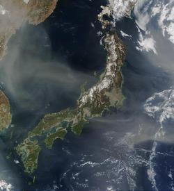 L'ile d'Honshu