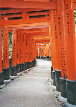 Couloir d'un temple