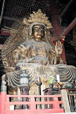 Statue sacrée de bouddha