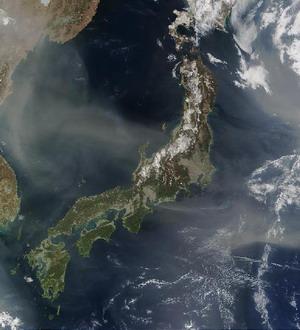 L'ile de Honshu