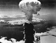 La bombe atomique sur Nagazaki