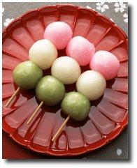 Les desserts japonais